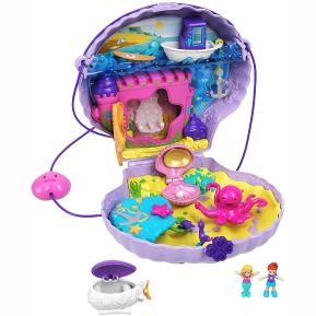 Mattel Polly Pocket Tiny Power Seashell Purse Τρέντι Τσαντάκι Κοχύλι