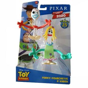 Mattel Toy Story 4 Φιγούρα 10 εκ. Forky & Karen (GNJ67)