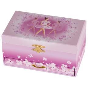 Μουσικό Κουτί Μπαλαρίνα με Θήκες και Συρταράκι