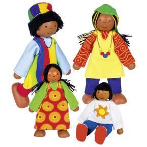 Κούκλες Οικογένεια Από Την Αφρική