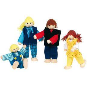 Goki Κουκλοοικογένεια 4 μελών