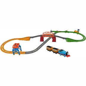 Fisher Price Thomas The Train -Πίστα με 3 Διαδρομές (GPD88)