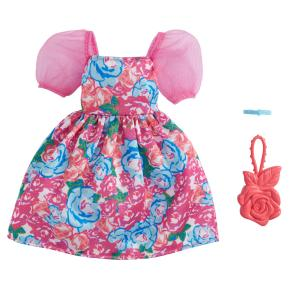 Mattel Barbie Βραδινά Σύνολα Φλοράλ Φόρεμα