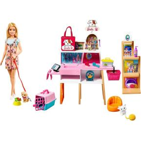 Mattel Barbie Μαγαζί Για Κατοικίδια