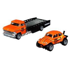 "Mattel Hot Wheels Premium 2021 Team Transport #31 Volkswagen ""Baja Bug"" Horizon Hauler"