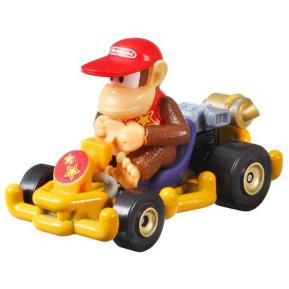 Mattel Hot Wheels Super Mario Kart Αυτοκινητάκι Diddy Kong