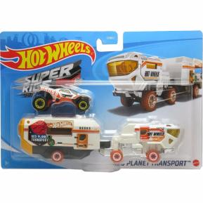Mattel Hot Wheels Σούπερ Νταλίκα Red Planet Transport