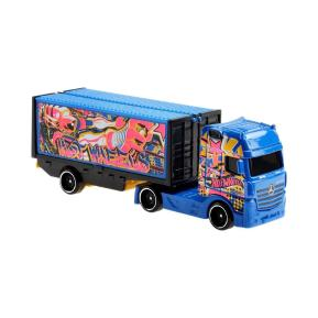 Mattel Hot Wheels Track Stars Νταλίκα Mercedes-Benz Actros