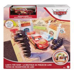 Mattel Cars Σετ Παιχνιδιού Luigi's Tire Shop