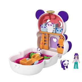 Mattel Polly Pocket Mini - Σετάκι Flip & Reveal Panda