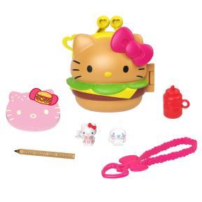 Mattel Hello Kitty -  Σετ Hamburger Diner Με Σημειωτάριο