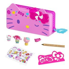 Mattel Hello Kitty - Κασετίνα & Σετ Παιχνιδιού Carnival Pencil Playset