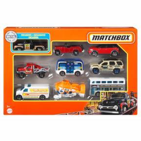 Mattel Matchbox Αυτοκινητάκια σετ των 9