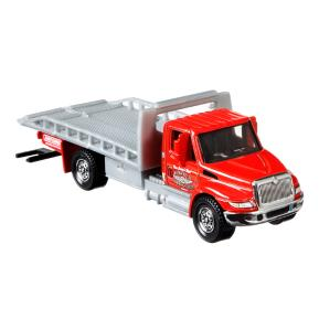 Mattel Matchbox Φορτηγάκι Working Rigs International Durastar 4400 Flatbed Transporter