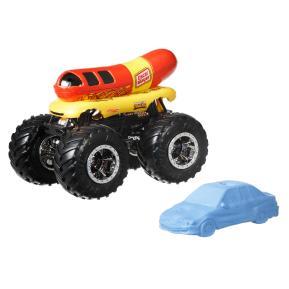 Mattel Hot Wheels Οχήματα Monster Trucks Oscar Mayer