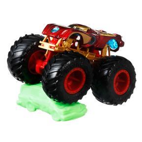 Mattel Hot Wheels Οχήματα Monster Trucks Iron Man