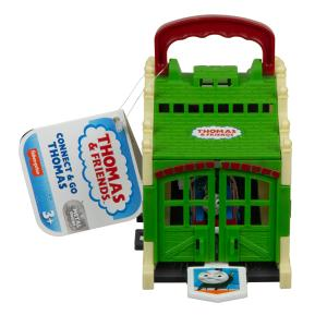 Fisher Price Thomas The Train Φορητός Σταθμός Τρένων - Connect & Go Thomas