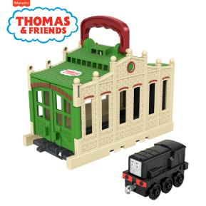 Fisher Price Thomas The Train Φορητός Σταθμός Τρένων - Connect & Go Diesel