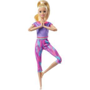 Mattel Barbie Νέες Αμέτρητες Κινήσεις Long Blonde Ponytail
