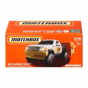Mattel Matchbox Αυτοκινητάκι σε Κουτί MBX Garbage Scout