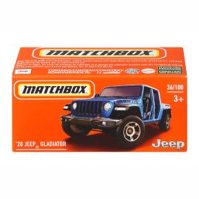 Mattel Matchbox Αυτοκινητάκι σε Κουτί '20 Jeep Gladiator