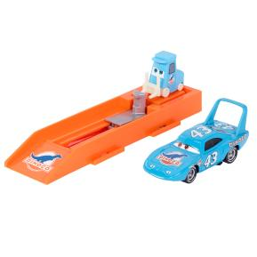 "Mattel Cars Εκτοξευτής Με Αυτοκινητάκι Strip Weathers AKA ""The King"""