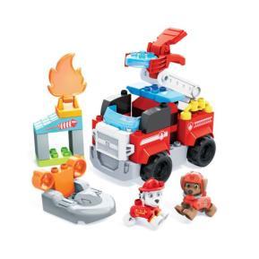 Mega Bloks® PAW Patrol Marshall's City Fire Rescue - Μάρσαλ & Ζούμα με Πυροσβεστικά Οχήματα GYJ01