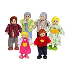 Hape - Οικογένεια Από Κούκλες