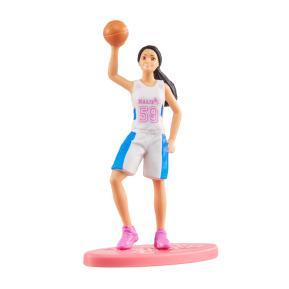 Mattel Barbie Μίνι Φιγούρα Basketball Doll 7cm
