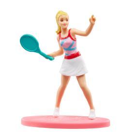 Mattel Barbie Μίνι Φιγούρα Tennis Doll 7cm