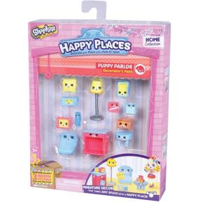 Shopkins Happy Places Σετ Puppy Parlor (HPH02511A)