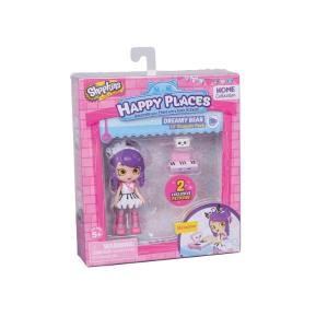 Giochi Preziosi Shopkins Happy Places Mini Dreamy Bear Melodine (HPH04011)
