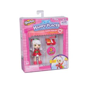 Giochi Preziosi Shopkins Happy Places Mini Puppy Parlor Sara Sushi (HPH04011)