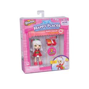 Shopkins Happy Places Mini Puppy Parlor Sara Sushi (HPH04011)