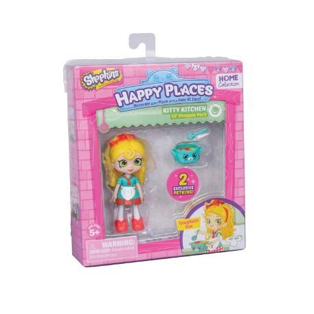Shopkins Happy Places Mini Kitty Kitchen Spaghetti Sue (HPH04011)-0