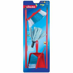 Theo Klein 6706 Vileda Broom Set on Blister Card Toy