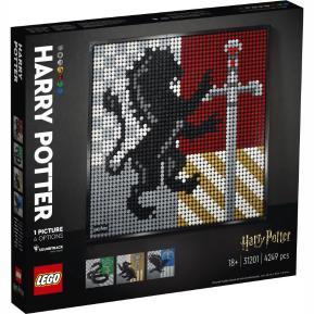 Lego Creator Art Harry Potter Hogwarts Crests 31201