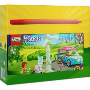 Λαμπάδα Lego Friends Olivia's Electric Car 41443