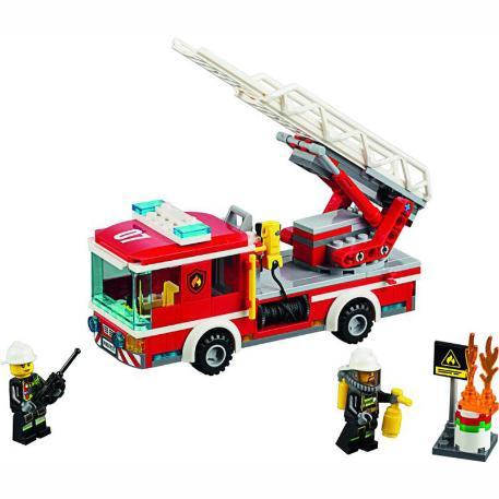 Fire Ladder Truck-1