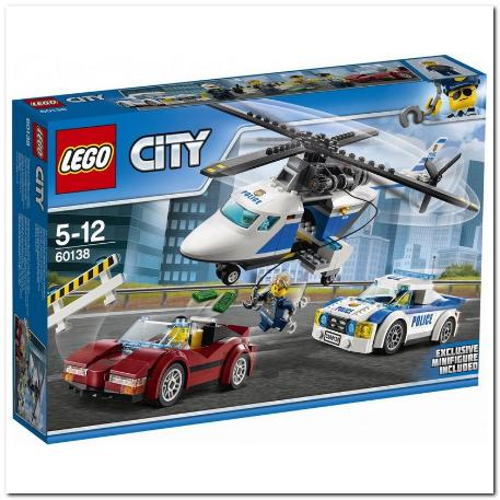 Lego High-Speed Chase Καταδίωξη σε Υψηλή Ταχύτητα (60138)-0