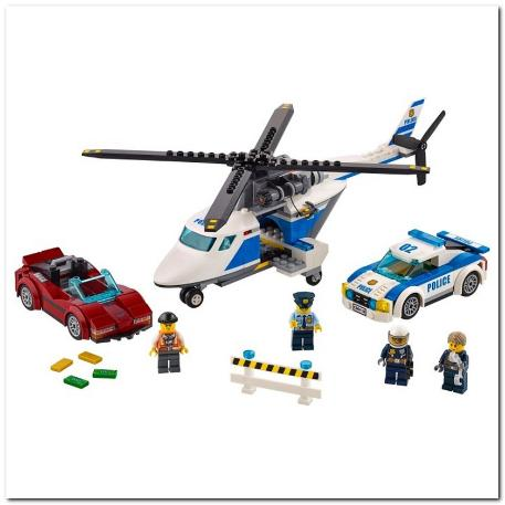 Lego High-Speed Chase Καταδίωξη σε Υψηλή Ταχύτητα (60138)-1