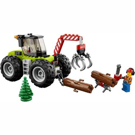 Lego Forest Tractor-1