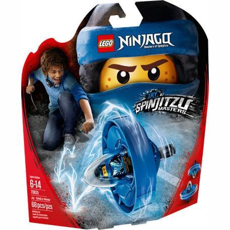 Lego Jay - Spinjitzu Master-0
