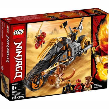 Lego Ninjago Cole's Dirt Bike (70672)-0