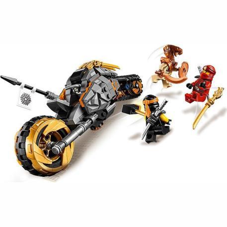 Lego Ninjago Cole's Dirt Bike (70672)-1
