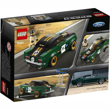 Lego 1968 Ford Mustang Fastback-3
