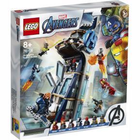 Lego Super Heroes Avengers Tower Battle 76166