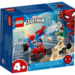 Lego Super Heroes Spider-Man And Sandman Showdown 76172