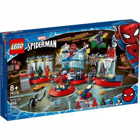 Lego Marvel Spiderman Attack on the Spider Lair 76175