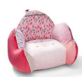 Lilliputiens Υφασμάτινη Μαλακή Παιδική Πολυθρόνα Louise 83021